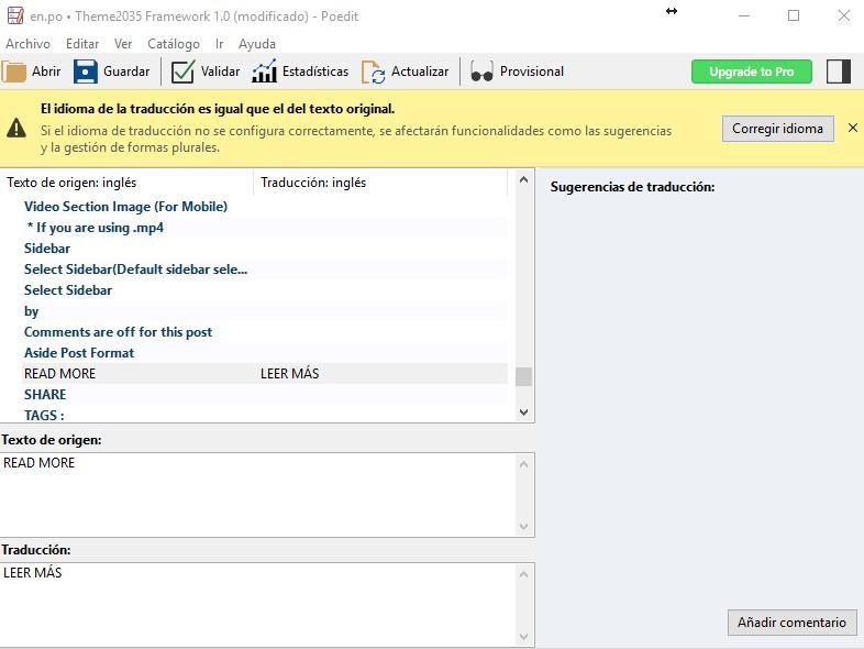 Cómo traducir themes y plugins de WordPress