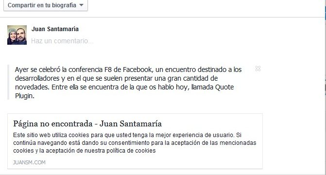 resultado-quote-plugin-facebook-wordpress